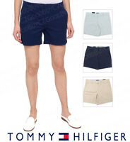 Women's Tommy Hilfiger Flat Front Casual Walk Shorts SIZE & COLOR VARIETY NWT
