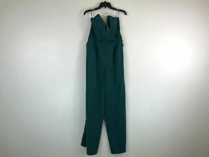 Women's Express Strapless Wide Leg Jumpsuit -Size 8, Green
