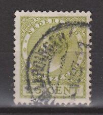 NVPH Netherlands Nederland 192 TOP CANCEL VLAARDINGEN Wilhelmina Veth 1926