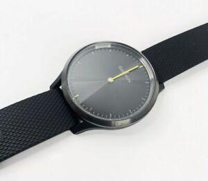 Garmin Vivomove HR Smartwatch,Black W/Neon Green (No Charger)