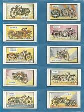 cigarette/trade cards - MOTOR BIKE CARDS - Full mint condition set