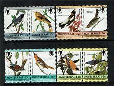 Montserrat 1985 Birds John Audubon SG 657/64 MNH