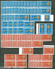 IRELAND 1968 EUROPA SCOTT#242/43  LOT OF 44 MINT NEVER HINGED SETS ORIGINAL GUM