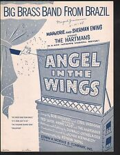 Big Brass Band From Brazil 1947 Angel In The Wings Sheet Music