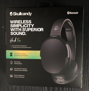 SKULLCANDY Hesh Evo Wireless Bluetooth Headphones - True Black Brand New&sealed