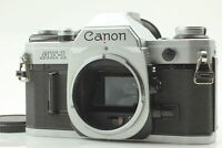 【Exc+5 new seal】 Canon AE-1 35mm SLR Film Camera Silver Body only ae1 From JAPAN