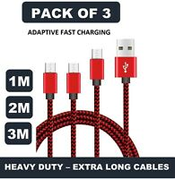 1M 2M 3M SAMSUNG MICRO USB DATA CHARGING CABLE FOR GALAXY S3 S4 S5 S6 NOTE 2