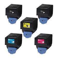 5x Toner Set for C-EXV21 Canon IRC3081i IRC2880i IR C2880 C3080 C2380 C3580 C338