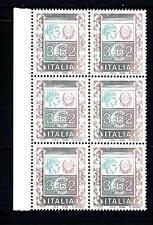 ITALIA REP. - 2002 - Alti valori ordinari 3,62€ Ornamenti e Italia turrita bdf