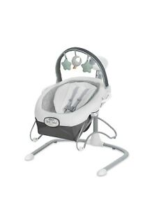 Graco Soothe 'n Sway LX Baby Swing with Portable Bouncer- Derby
