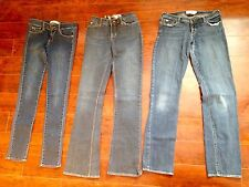GIRLS ABERCROMBIE JEANS LOT SIZE 16 MADDY & More