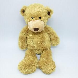 "Jellycat medium teddy bear honey tan brown ears soft toy plush comforter 16"""