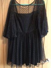 ASOS Size 18 Black Ocassion Aline smock Dress
