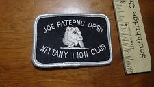 JOE PATERNO OPEN GOLF TOURNAMENT PENN STATE NITTANY LIONS PATCH   BX P#9