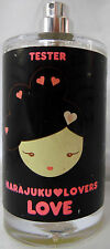 HARAJUKU LOVERS LOVE 3.4 OZ / 100 ML TESTER.NO.BOX.NO.CAP WOMAN DISCONTINUED