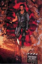 "Mel Gibson Road Warrior 4x6"" Postcard Movieland Wax Museum"