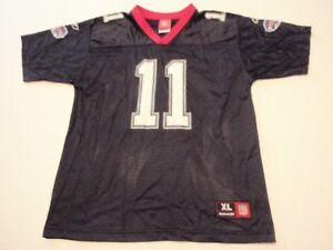 Drew Bledsoe Buffalo Bills Reebok NFL Jersey Size Youth XL (18-20) #11