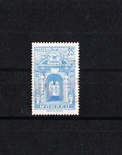 MONACO  vue de la principauté   25f  bleu de 1948/49   num:  313A  oblitéré