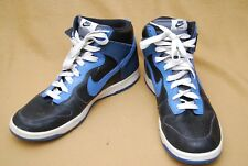 Nike Dunk High SB Men's Size 13 (US) Black Varsity Blue-Flint Gray **VERY NICE**