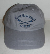 NWOT Waste Management Crew WM Embroidered Logo Baseball Hat Cap