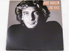 BARRY MANILOW ONE VOICE*INCL ORIGINAL FAN CLUB APP*ARISTA AL-9505