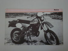 - RITAGLIO DI GIORNALE 1982 MOTO MAICO GS 490
