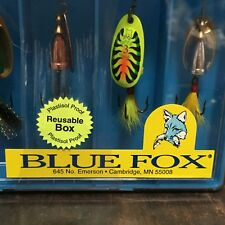 Blue Fox Super Vibrax Spinning Fishing Lure - 5 in 1 box (Made in Finland)