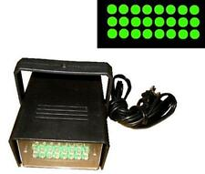 GREEN LED FLASHING STROBE LIGHT bright flash lights party dj lighting lamp new