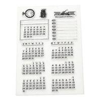 Basteln Klar Silikon Stempel Scrapbooking Briefmarken Fotoalbum ClearStamps!