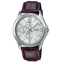 Casio MTP-V301L-7A  Men's Watches Casio Analog Leather Band