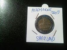 Pieces de monnaie De 2 Euros Commémorative Année 2009 Allemande TTB