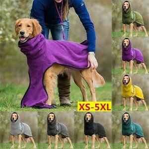 Pet Coats Hoodies Jackets Fleece Fashion Winter Dog Warm Blankets Vest Clothing