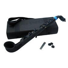 Nuvo jSax Pre-Saxophone Instrument for Beginner Musicians  - Black/Blue