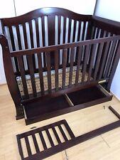 Crib Athena Convertible Espresso Used