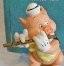 DISNEY WDCC 3 LITTLE PIGS  FIFER PIG  I TOOT MY FLUTE DISNEY CLASSICS COLLECTION