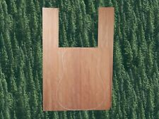 Figured Bubinga Acoustic Guitar Sides and Back Exotic Luthier Wood