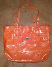 Nine & Company Orange Shopper's Bag Tote Large Size Purse * Brand New Condition!