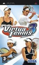 Virtua Tennis 3 for Sony PSP PAL 2007 Age 3 Complete Great Game