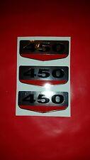 HONDA 1968 CB450 CL450 SIDE COVER (3) DECALS EMBLEMS GRAPHICS AIR BOX COVER