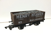 Dapol/Antics OO Gauge 7 Plank Wagon Henry Heaven Nailsworth