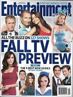 Entertainment Weekly Magazine Fall TV Preview Person Of Interest Up All Night