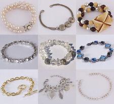 Markenlose Modeschmuck-Armbänder aus gemischten Metallen für Damen
