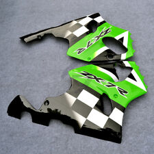 Checker Batwing Fairing Bodywork Fit For Kawasaki Ninja ZX7R 96-03 99 Left+Right