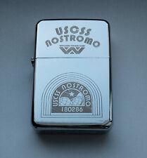 ALIEN - chrome petrol lighter -------- [Cd:612.mc-264-lP.] mini poster nostromo