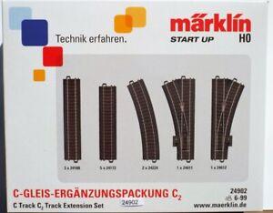 Märklin 24902 Ergänzungspack Gleisset C2 #NEU in Originalverpackung#