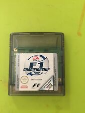 Nintendo Gameboy game GB GBC FIFA F1 Championship Season 2000 r67