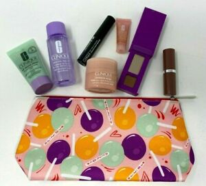 CLINIQUE 8 Piece Set - Skincare & Makeup Set - Brand New in Sealed Bag
