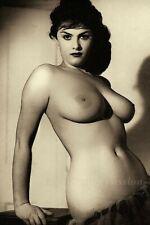 "1960's NUDE ART Erotic Rosa Damaille Voluptuous Woman 4""x6"" Reprint Photo RD1"