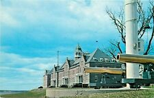 US Naval War College Newport Rhode Island RI Coasters Harbor Luce Hall Postcard