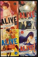 Alive The Final Evolution 1, 2, 3, 4 Manga Graphic Novel Viz Horror OOP